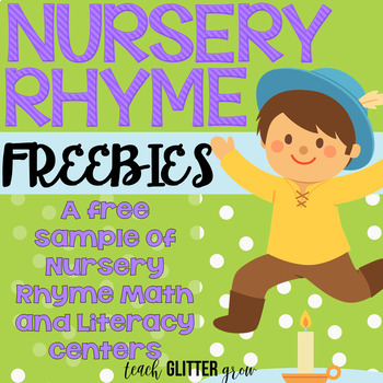 Differentiated Nursery Rhyme Workstation Freebie!
