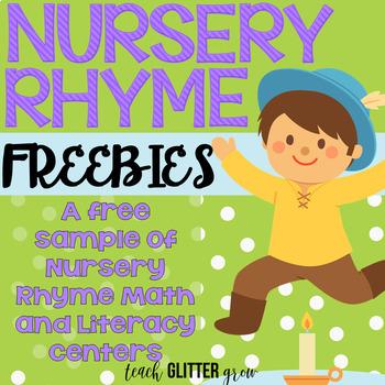 Differentiated Nursery Rhyme Workstation Freebie!