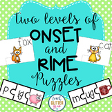 Differentiated Onset and Rime Puzzles