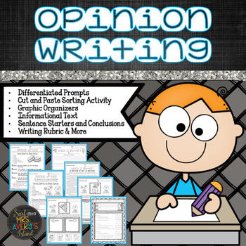 Opinion Writing Packet