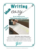 Differentiated Opinion Writing Kit