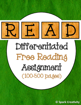 Differentiated Outside Reading Assignment (100-500 Pages)