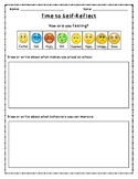 Differentiated PBIS Self-Reflection Sheets (PK-5)