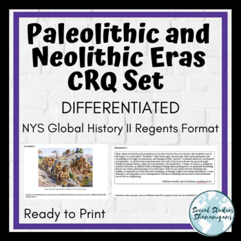 Differentiated Paleolithic and Neolithic CRQ Set