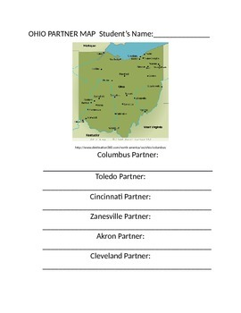 Differentiated Partner Map - Ohio