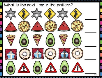 Differentiated Pattern Work Mats