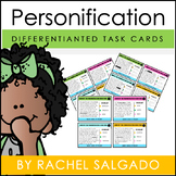 Figurative Language: Differentiated Personification Task Cards