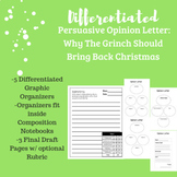 Differentiated Persuasive Opinion Letter to the Grinch