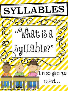 Differentiated Phonological  Awareness Activities with Syllables