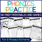 1st Grade Phonics Review - Phonics Worksheets