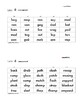 Differentiated Phonics Word Cards Short A