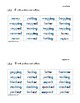 Differentiated Phonics Word Cards Short Vowels