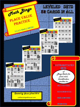 Differentiated Place Value Bingo