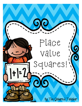 Differentiated Place Value Math Squares