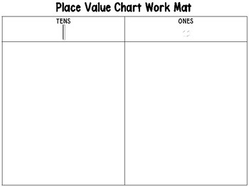 Differentiated Place Value Work Mats