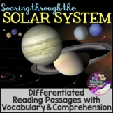 Differentiated Solar System Reading Passages & Solar Syste