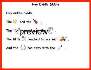 Differentiated Poems/Nursery Rhymes can be used with TC Teachers College