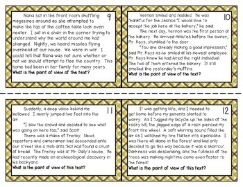 Differentiated Point of View Task Cards