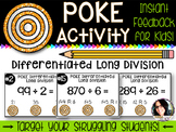 Differentiated Poke Pack for Long Division COMMON CORE ALIGNED 5.NBT.6
