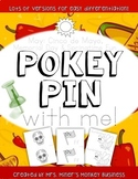 Differentiated Pokey Pin May Cinco de Mayo Spring Fine Motor  Literacy Center