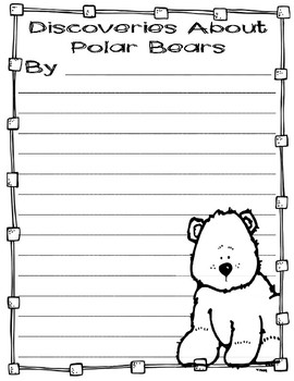 Differentiated Polar Bear Research Books