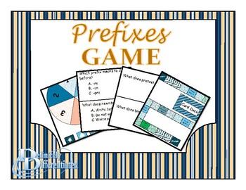 Differentiated Prefix Board Game