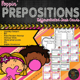 Prepositions - Differentiated Task Cards