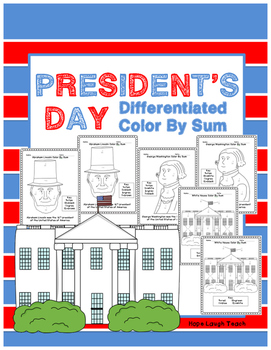 Differentiated President's Day Color By Sum