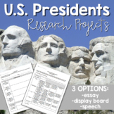 Differentiated Presidential Research Project!