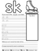 Printing My Blends and Digraphs Workbook