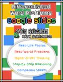 Differentiated Problem Solving Google Slides | 4.G Math