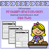 Differentiated Problem and Solution Reading Comprehension