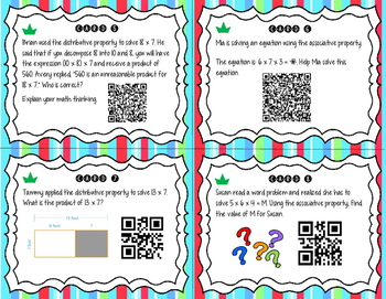 Differentiated Properties of Multiplication QR Codes