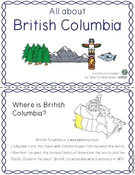 Differentiated Province of Canada Research Package (British Columbia)