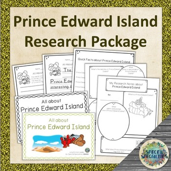 Differentiated Province of Canada Research Package (Prince Edward Island)
