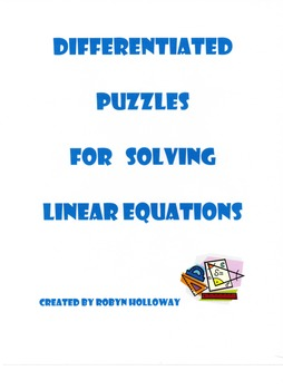 Differentiated Puzzles for Solving Linear Equations