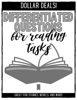 Differentiated Questions for Short Stories, Novels, and Literature