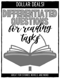 Differentiated Questions for Short Stories, Novels, and Li