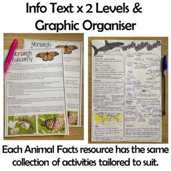 Structural and Behavioural Adaptations. Information Texts. Australian Animals