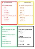 Differentiated (RAGE) Algebraic Substitution - www.TheMathsProfessor.com