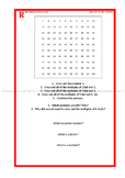 Differentiated (RAGE) Factors, Multiples and Primes - www.TheMathsProfessor.com