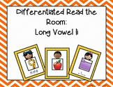 Differentiated Read the Room: Long Vowel I color/b&w, recording sheets, extras!