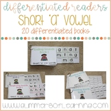 "Differentiated Readers: Short ""a"" vowel cvc words"
