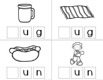 "Differentiated Readers: Short ""u"" vowel cvc words"
