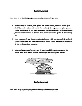 Differentiated Reading Assessments