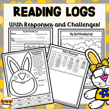 Differentiated Reading Challenges, Reading Logs, Reading Responses for April!