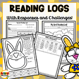 Differentiated Reading Challenges, Reading Logs, Reading R
