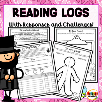 Differentiated Reading Challenges, Reading Logs, and Responses for February!