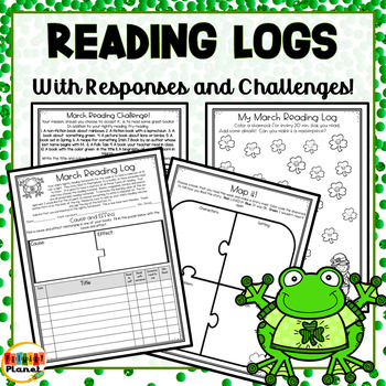 Differentiated Reading Challenges, Reading Logs, and Responses for March!