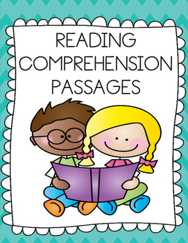 NO PREP Reading Comprehension Passages {Differentiated & C